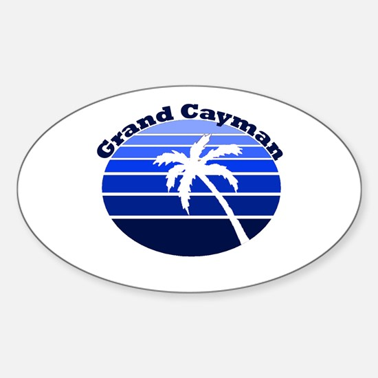 Grand Cayman Oval Decal