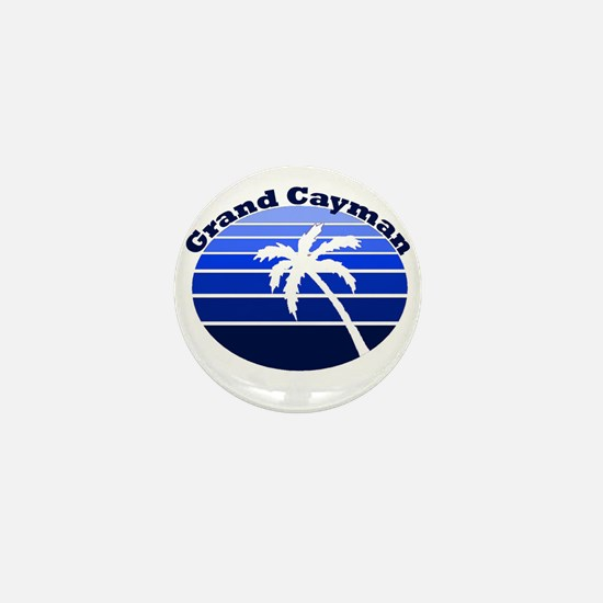 Grand Cayman Mini Button