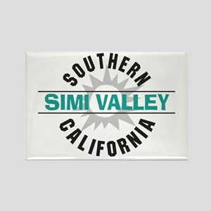 Simi Valley California Rectangle Magnet