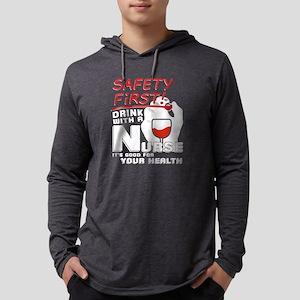 Drink With Nurse T Shirt Long Sleeve T-Shirt