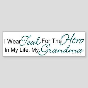 Teal For My Hero 1 (Grandma OC) Bumper Sticker