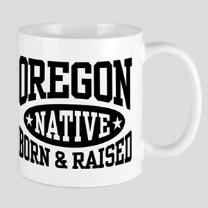 Oregon Native 11 oz Ceramic Mug