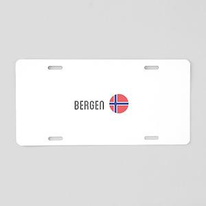 Bergen Aluminum License Plate