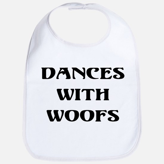 Dances with woofs Bib
