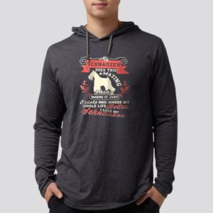 I Love My Schnauzer T Shirt, M Long Sleeve T-Shirt