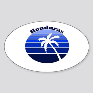 Honduras Oval Sticker