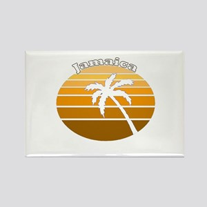 Jamaica Rectangle Magnet