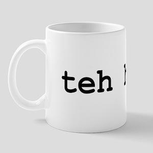 teh hax0r Mug