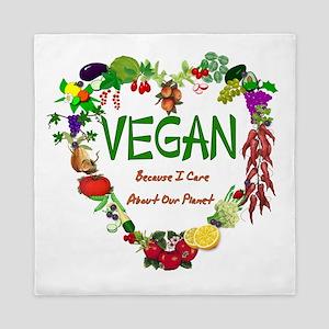 Vegan Heart Queen Duvet