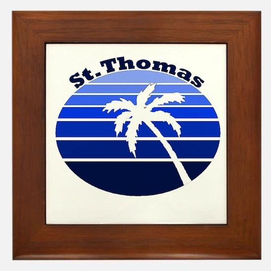 St. Thomas, USVI Framed Tile