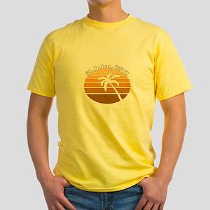 St. John, USVI Yellow T-Shirt