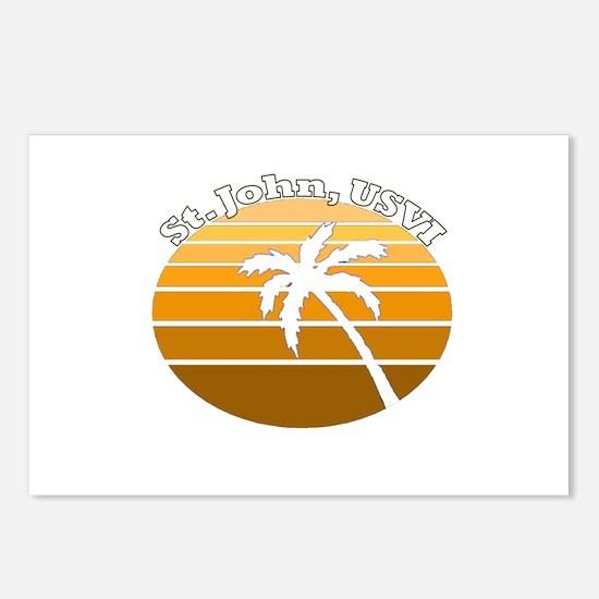 St. John, USVI Postcards (Package of 8)