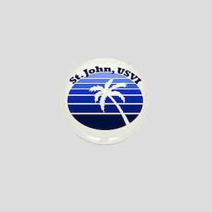 St. John, USVI Mini Button