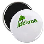 IRELAND with Shamrock Magnet