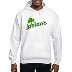 IRELAND with Shamrock Hooded Sweatshirt