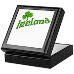 IRELAND with Shamrock Keepsake Box