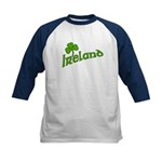 IRELAND with Shamrock Kids Baseball Jersey