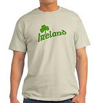 IRELAND with Shamrock Light T-Shirt