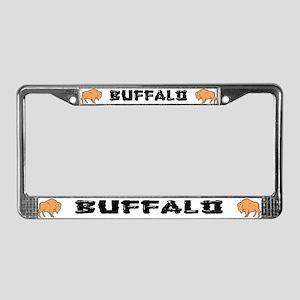 Buffalo Ranch License Plate Frame