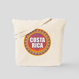 Costa Rica Sun Heart Tote Bag