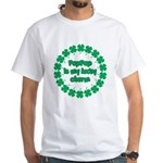 PapPap is My Lucky Charm White T-Shirt