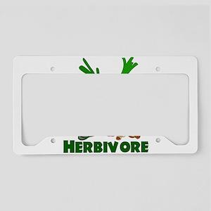 Herbivore License Plate Holder