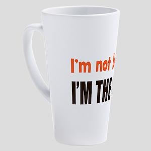 I'm The Boss 17 oz Latte Mug