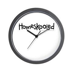 Homeskooled Wall Clock