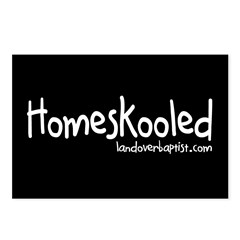 Homeskooled Postcards (Package of 8)