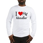 I Heart My Needler Long Sleeve T-Shirt
