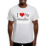 I Heart My Needler Light T-Shirt