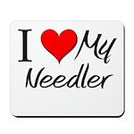 I Heart My Needler Mousepad