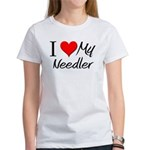 I Heart My Needler Women's T-Shirt