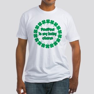 Paw Paw is My Lucky Charm Fitted T-Shirt