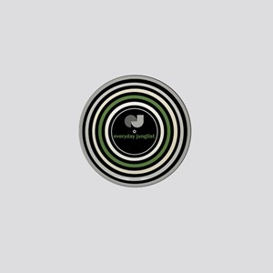 Vinyl Abstract Mini Button
