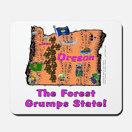 OR-Grumps! Mousepad
