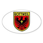 Rottweil Oval Sticker
