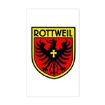 Rottweil Rectangle Sticker