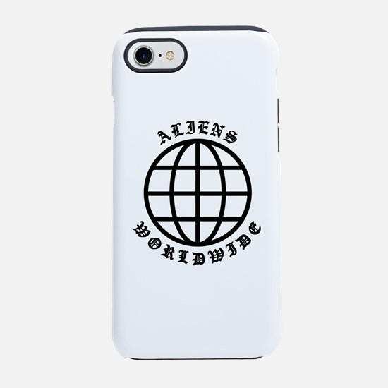 Aliens World Wide Original iPhone 8/7 Tough Case