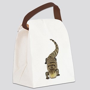 Blue Tongue Skink Canvas Lunch Bag