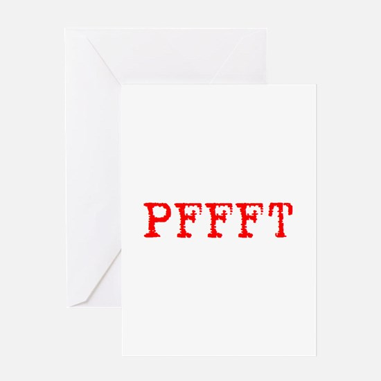 PFFFT Greeting Card