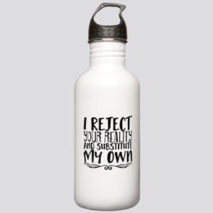 I reject your reality Stainless Water Bottle 1.0L