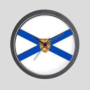 Nova Scotia Flag Wall Clock