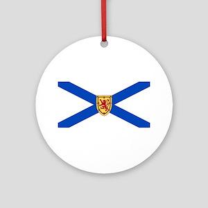 Nova Scotia Flag Ornament (Round)