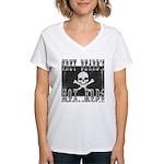 GREYBEARD Women's V-Neck T-Shirt