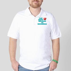 This Heart: Broderick (E) Golf Shirt