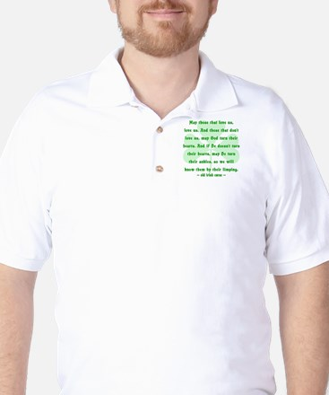 Irish Curse or Toast Golf Shirt