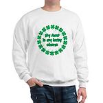 My Aunt is My Lucky Charm Sweatshirt