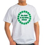 My Aunt is My Lucky Charm Light T-Shirt