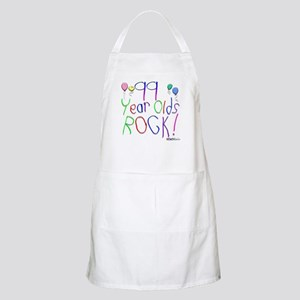 99 Year Olds Rock ! BBQ Apron